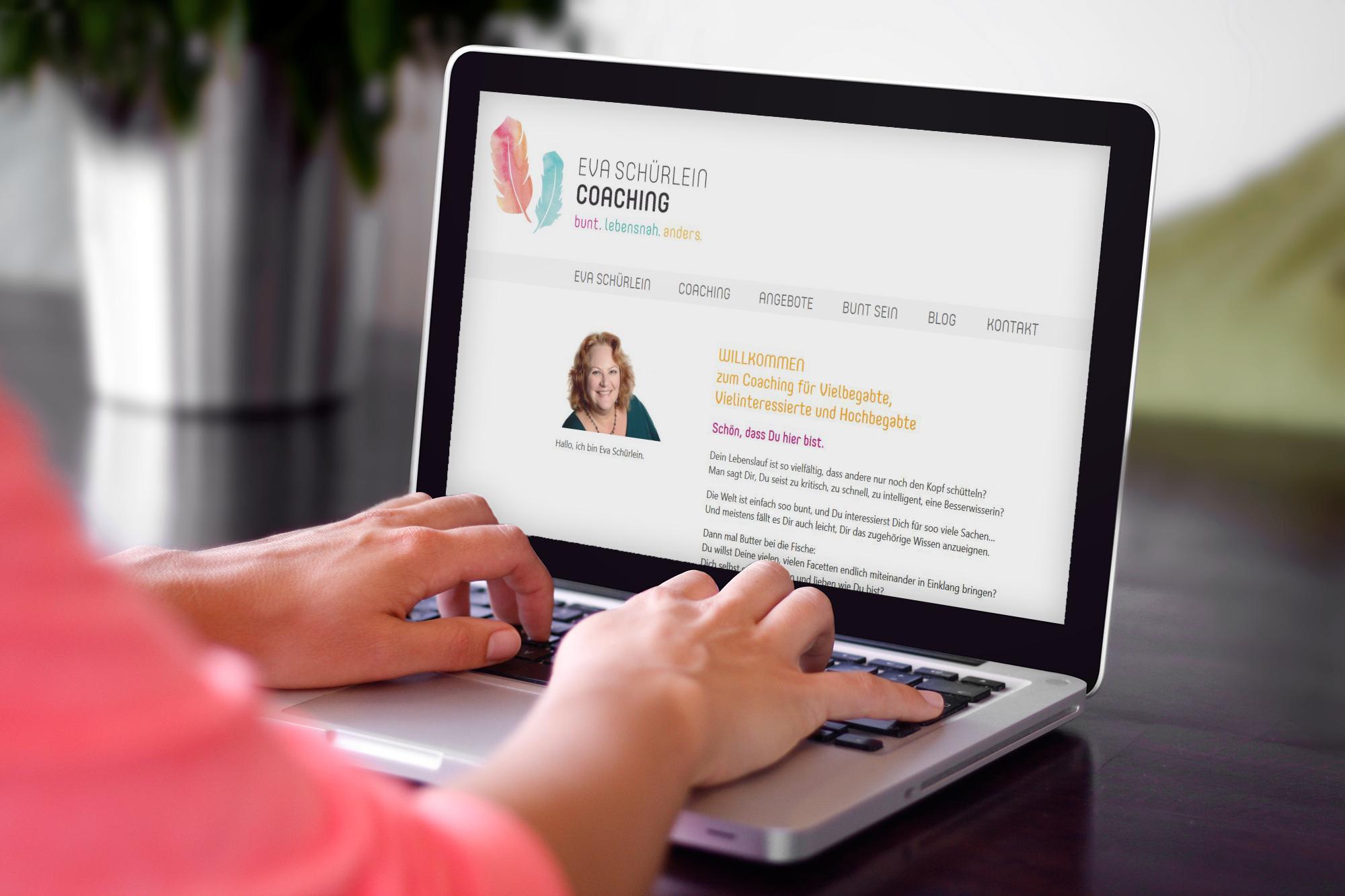Achtsames Webdesign - Eva Schürlein Coaching Bonn